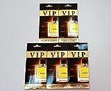 5 x caribi VIP Auto, Zuhause oder Büro Lufterfrischer mit Parfume Duft von №111 - Hermes Terre d 'Hermes