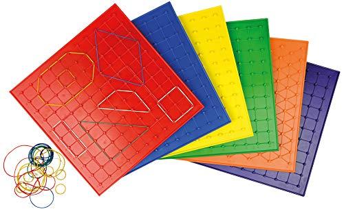 Eduplay 12038523cm géométrique Board (Lot de 6)