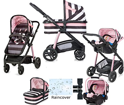 Cosatto Wow Travel System With Port Car Seat Golightly 3  Cosatto