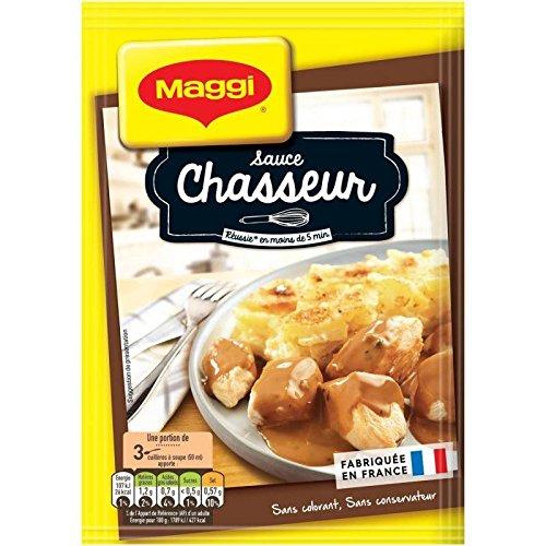 Maggi Sauce Chasseur 6X24G Saveur À Lancienne - Livraison Gratuite Pour Les Commandes En France - Prix Par Unité Sauce Chasseur