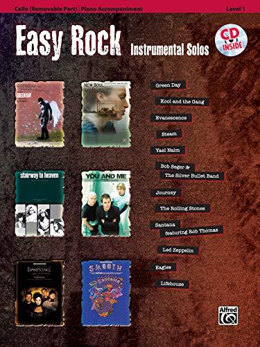 Easy Rock Instrumental Solos: Cello