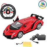 Smiles Creation Famous Winner Racing Car, 1:16 Scale And Remote Control Toy For Kids - Red