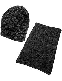Pierre Cardin - Ensemble bonnet, écharpe et gants - Homme