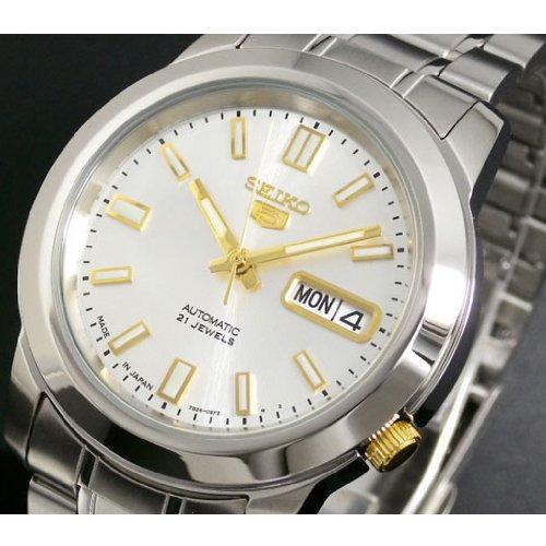 340e48fe14ee Reloj Seiko 5 Gent SNKK09K1 - Analógico Automático para Hombre en Acero  inoxidable de Seiko