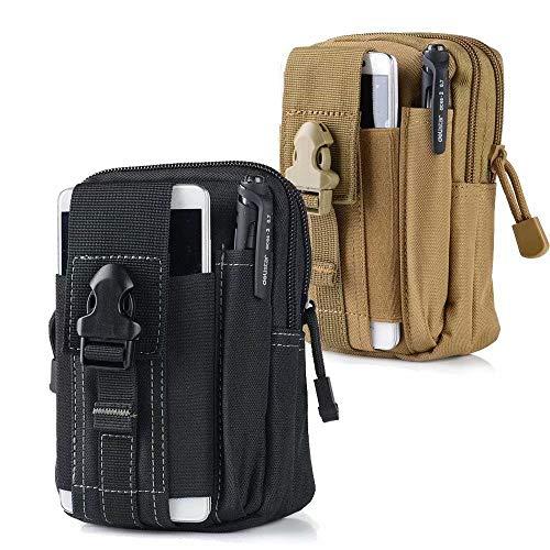 Frolahouse Taktische Hüfttasche   Universal Outdoor EDC Militär Wallet Pouch Multifunktionale Tasche für iPhone X 8 7 6 6 s Plus Samsung Galaxy S8 S7 S6 S5 S4 S3 Hinweis 8 5 4 3 2 LG HTC -
