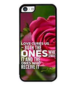 ifasho Designer Back Case Cover for Apple iPhone 5c (Rose Rosa Medicine Who Spread It)