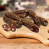 Salsiccia di Fegato Calabrese Stagionata Artigianale 700 gr circa - Bottega di Calabria