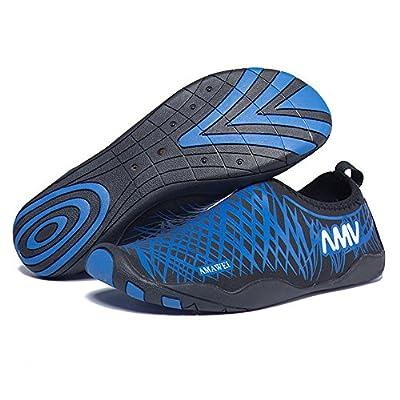 Water Shoes for Men and Women, Barefoot Water Skin Shoes, Swim Yoga Beach Running Snorkeling Swimming Neoprene Rubber Sole Aqua Shoes