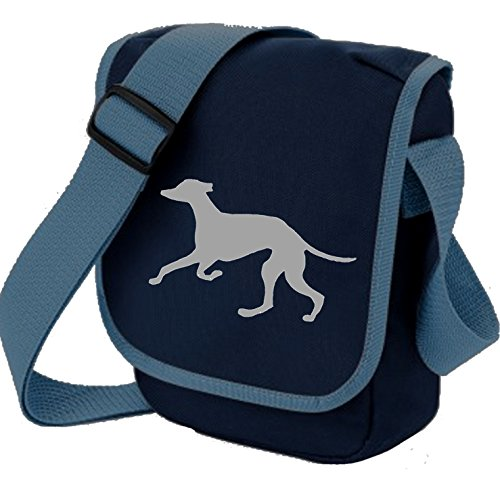 Bag Pixie - Borsa a tracolla unisex adulti Grey Hound Blue Bag