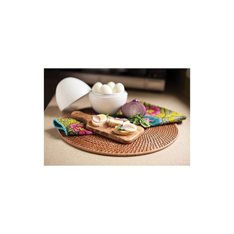 Microwave Electric Egg Boiler Cooker for up to 4 Eggs & Egg Poacher & Omelette Maker