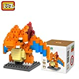 #8: Pokemon Series Diamond Building Blocks Puzzle Action Figure 3D Bricks Learning Education Toys (Firedragon)