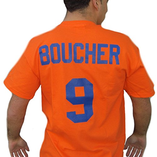 Bobby Boucher #9 Mud Dogs Jersey T-Shirt-Mens