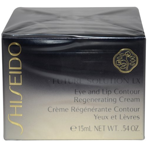 Shiseido Future Solution Lx Eye and Lip Contour Regenerating Cream for Unisex, 15ml/0.54oz by Shiseido [Beauty] (English Manual) (Solution Future Eye)