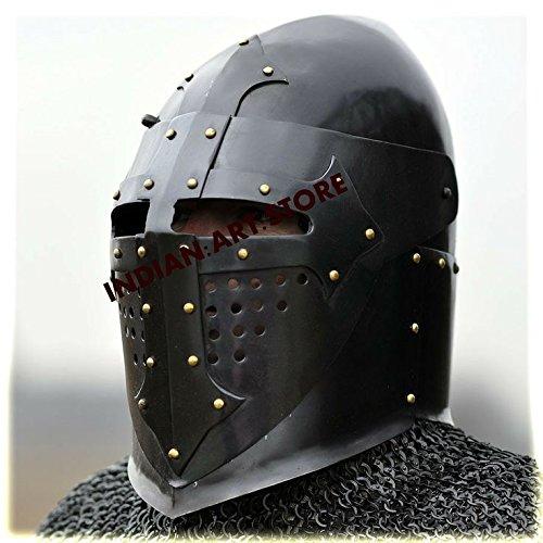 New Super Mittelalter sugerloaf Helm Armour Helm römischen Knight Helm LARP SCA Helm