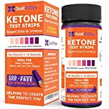 Ketone Keto Urine Test Strips. Look and Feel Great on a Low Carb Ketogenic Diet. Accurately Measure Your Fat Burning Ketosis Levels in 15 Seconds. 125 Strips.