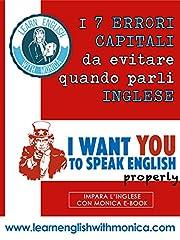 Idea Regalo - I 7 Errori Capitali da Evitare quando parli Inglese