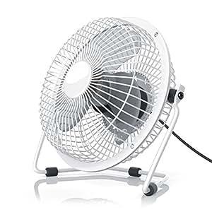 csl ventilateur usb ventilateur de bureau fan cadre en m tal pales en plastique pour. Black Bedroom Furniture Sets. Home Design Ideas