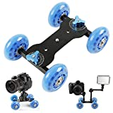Yahee Mini Dolly Kamerawagen Camera Kit f. DSLR Video Camcorder slider