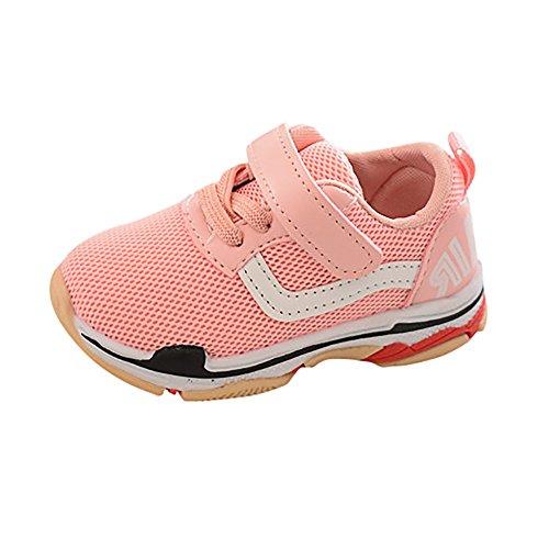 LANSKIRT   Bébé enfant Chaussons bébé, Mode Chaussures de Sport Garçons et  Filles Enfants Maille 2a9e06a92fd