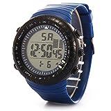 LANOWO Herrenuhr Armbanduhr LANOWO FüR MäNner Mode LED Digital Date Sport MilitäR Gummi Uhr Alarm Wasserdicht Verkaufen Sich Wie Warme Semmeln Watch