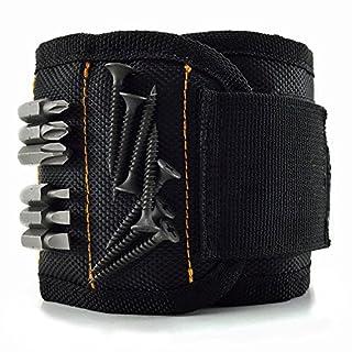 Magnetisches Armband, Audel Magnetarmband mit 5 leistungsstarken Magneten Magnet Armbänder für Holding Werkzeuge, Schrauben, Nägel, Schrauben, Dübel, Bohrungen etw.