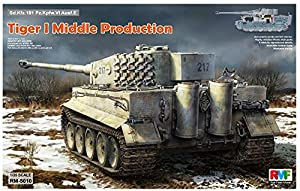 Rye Field Model RM de 5010 - Maqueta de Tiger I Middle Production Full Interior