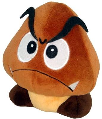 "Super Mario Plush - 5"" Goomba Soft Stuffed Plush Toy Japanese Import (japan import) de San-El"