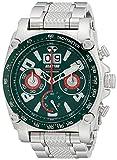 REACTOR Hommes de 41009affichage analogique à quartz japonais argent montre