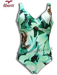 552c8a523fdb LIBERTI Costume Mare Donna Intero Balconcino Indonesia (Come Foto, Tg.6°/