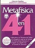 Metafisica 4 en 1 (Volumen I: Metafisica al Alcance de Todos, Te Regalo lo que se te Antoje, El Maravilloso N??mero 7, Qui??n es y Qui??n fue el Conde St. Germain) by Conny Mendez (1995-12-23)