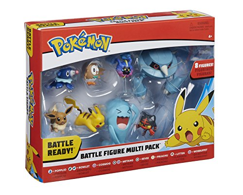Pokemon 96302 Battle 8 Figura, Multicolor, 2/3 Pulgadas 1