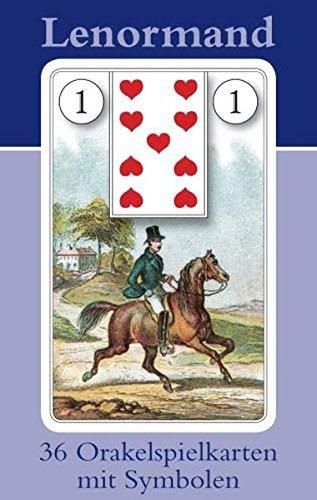 (Lenormand Orakelkarten mit Kartenabbildungen: 36 Orakelkarten)