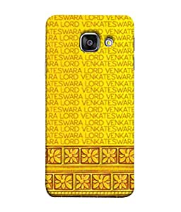 PrintVisa Designer Back Case Cover for Samsung Galaxy A3 (6) 2016 :: Samsung Galaxy A3 2016 Duos :: Samsung Galaxy A3 2016 A310F A310M A310Y :: Samsung Galaxy A3 A310 2016 Edition (Cloth Material Illustration Wallpaper Background Decoration )