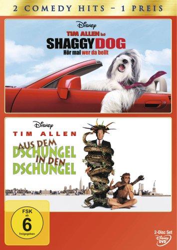 Shaggy Dog - Hör mal wer da bellt/Aus dem Dschungel in den Dschungel [2 DVDs]