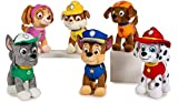 Patrulla Canina (PAW PATROL) - Pack surtido Patrulla Canina 6 modelos peluche super soft. MARSHALL (20CM), RUBBLE (19CM), ROCKY (20CM), SKYE (18CM), ZUMA (18CM) y CHASE (20CM).