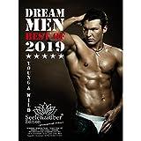 Dream Men Calendrier Premium 2019 – DIN A5 – Hommes – Man – Men – Hero – Shades of Sex – Coffret cadeau avec 1 carte de vœux et 1 carte de Noël – Edition Seelenzauber