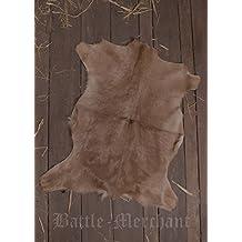 Grande Cabra, aprox. 90cm Real Casa piel natural de la piel de cabra LARP Medieval Vikingo