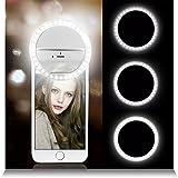 bescita Selfie portable 36Bague LED Flash remplir lumière clip Appareil photo...