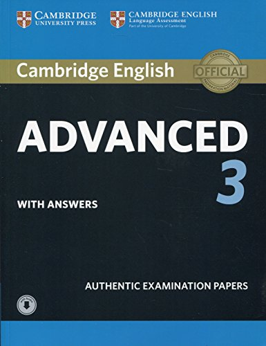 Cambridge English Advanced 3 Student's Book with Answers with Audio (CAE Practice Tests) por Cambridge Assessment