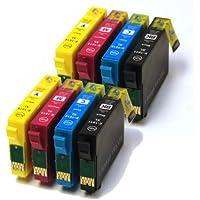 T1636 x2 Sets Compatible 16XL Ink Cartridges (Pen & Crossword) 2x T1631, 2x T1632, 2x T1633, 2x T1634