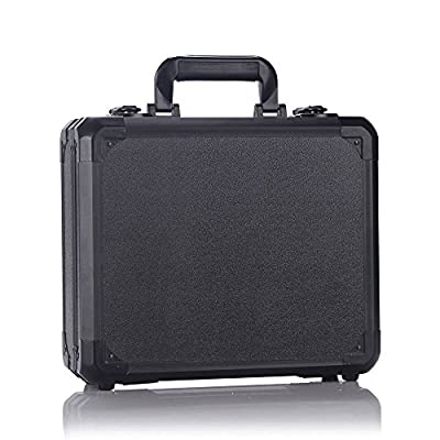 Rantow Aluminum Hard Storage Suitcase Box for DJI Mavic Pro Quadcopter Waterproof Protect Case for DJI Mavic Pro Drone(Black)
