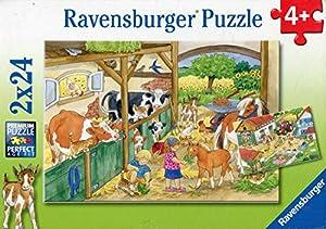 Ravensburger - Puzzle con diseño de Vita al Campo, 2 x 24 Piezas (09195 9)