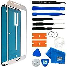 MMOBIEL® Kit de Reemplazo de Pantalla Táctil para Samsung Galaxy Note 2 N7100 Series (Blanco) incluye cinta adhesiva/Kit de Herramientas/Limpiador/alambre Metálico/Manual de Instrucciones