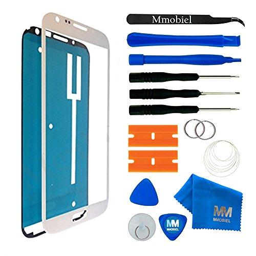 MMOBIEL Écran Tactile Compatible avec Samsung Galaxy Note 2 N7100 Series (Blanc) avec Kit d'Outils Complet