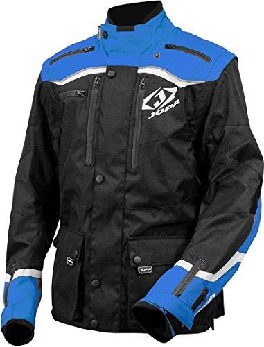 Jopa Factory Enduro Jacke XL Schwarz/Blau/Weiß