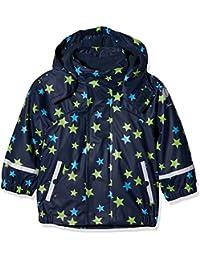 Sterntaler Regenjacke Mit Innenjacke, Chaqueta Impermeable para Bebés, Azul (Marine 300), 74 cm