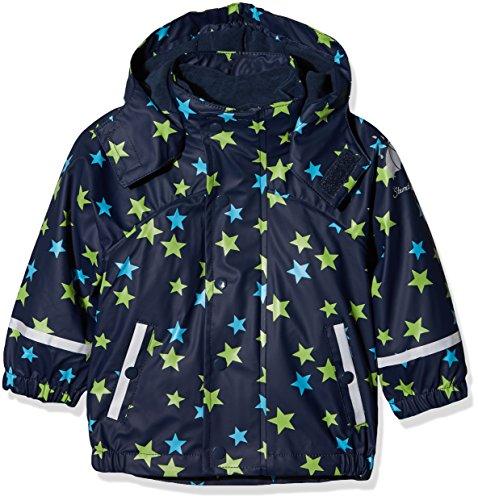 Sterntaler Kinder Unisex gefütterte Regenjacke, 3in1 Multifunktionsjacke, Alter: 12-18 Monate, Größe: 86, Blau