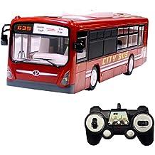 Hugine 6 Canales de autobús de Control Remoto 2.4G con Luces y Sonidos de Apertura