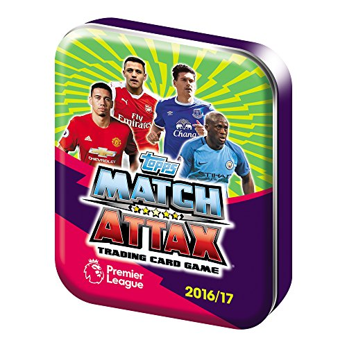 EPL Match Attax Fußball-Sammelkarten, Saison 2016 / 2017, in Mini-Dose