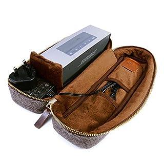 Tuff Luv Bose SoundLink Mini 1/2Tweed Fischgrätmuster Schutzhülle Reise Schutzhülle Tasche und Schutzhülle [einschließlich NFC für die Paarung Bluetooth]-Braun (B00RVXBCWY) | Amazon price tracker / tracking, Amazon price history charts, Amazon price watches, Amazon price drop alerts